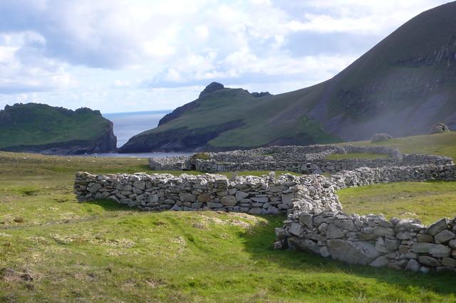 San Kilda, Hébridas Exteriores de Escocia. Reino Unido