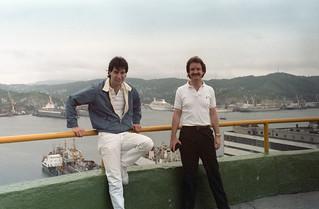 Dave in Nakhodka Russia - MS Royal Viking Star Cruise Ship 1987