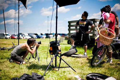 Behind the Scenes - Elmakias shoot w/ NOFX