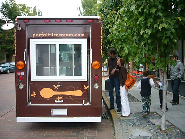 Organic Ice Cream Truck
