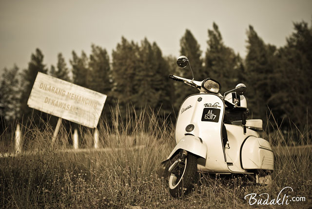 my old vespa