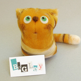 Begley, the Orange Tabby Cat