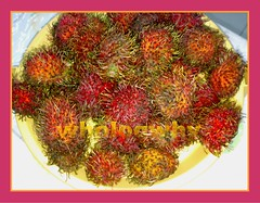 rambutan, fruit, food,