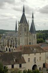 Eglise de Dourdan vue du Donjon