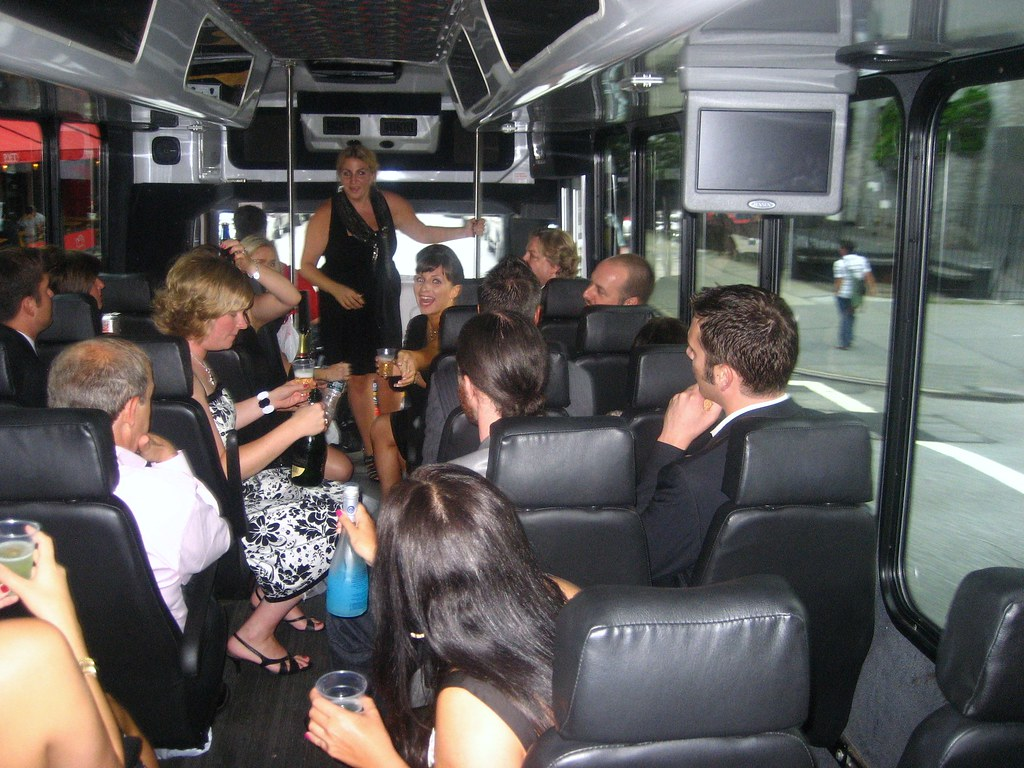 A Nice Bus Party from 2009