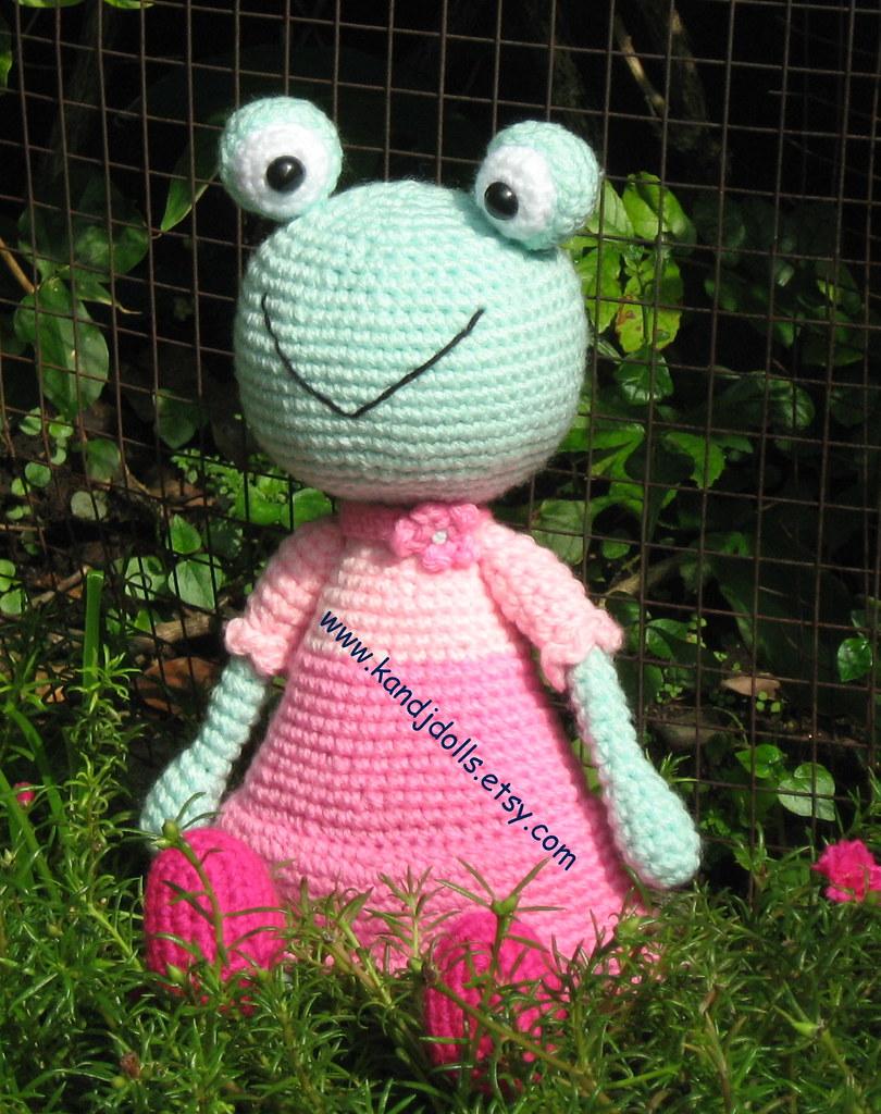 Ravelry: Fred the Amigurumi Frog pattern by Maarja Härsing-Värk | 1024x810