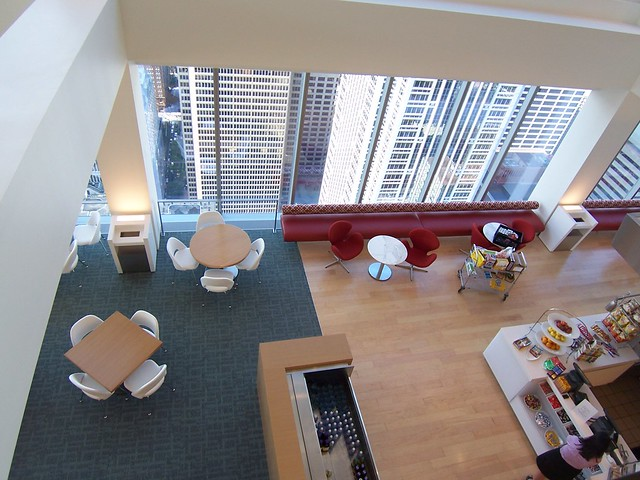 43rd floor cafeteria