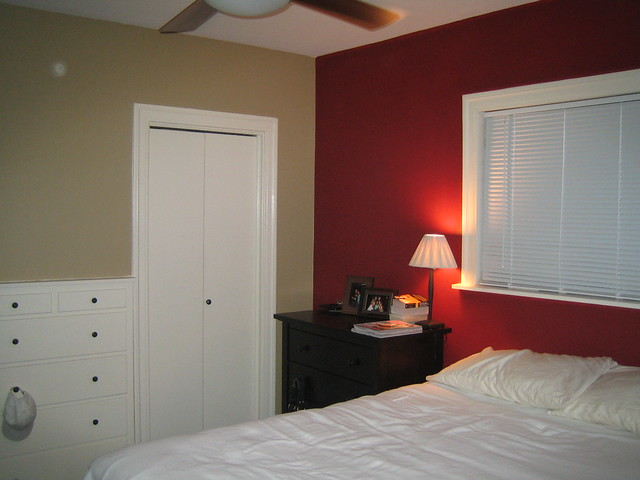 Red Accent Wall Endearing Of Red Accent Wall Bedroom Images