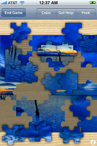 iPhone Jigsaw Puzzle with Flickr Image by ianlevesque