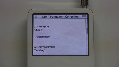 SJMA Video iPod Tour - Museum Mode