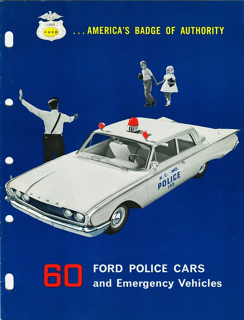 1960 Ford Police Cars
