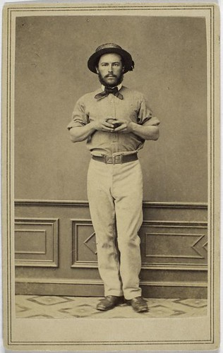 [Unidentified cricket player.]