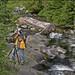Shooting Up Stream on Mt Rainier by masterofmadness