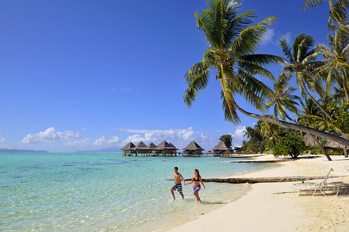 InterContinental Bora Bora  Le Moana Resort romance on the beach