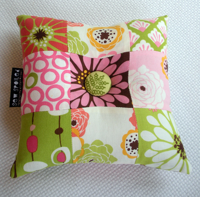 Patchwork Pincushion Side 1