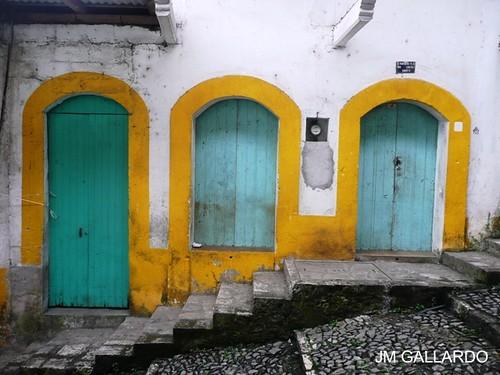 Puebla - Puerta escalera ventana puertita