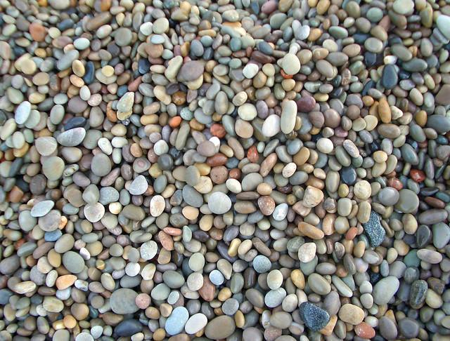Steine an der Küste von Malin Head