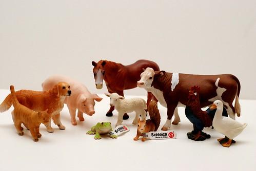 Farm Animal Toys : Rajen review schleich toys rajencreation