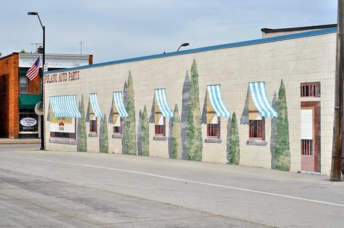 Pulaski Auto Parts Mural