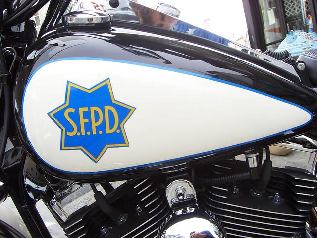 SFPD Harley