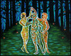 THE THREE GRACES IN TIMES OF UNCERTAINTY by Madelene Susan