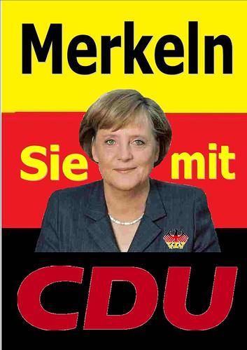 MERKELN SIE MIT CDU