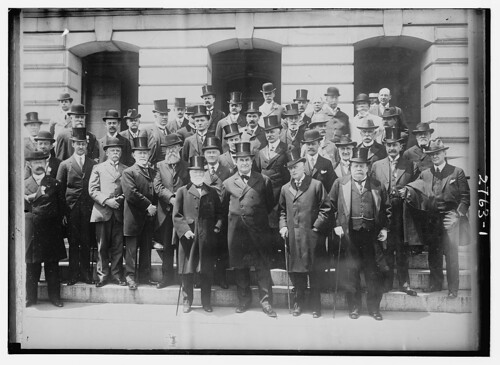 [Andrew Carnegie, William Jennings Bryan and others]  (LOC)