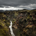 Iceland canyon laugavagur