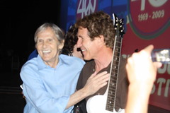 Levon Helm and Famous Actor John Shea