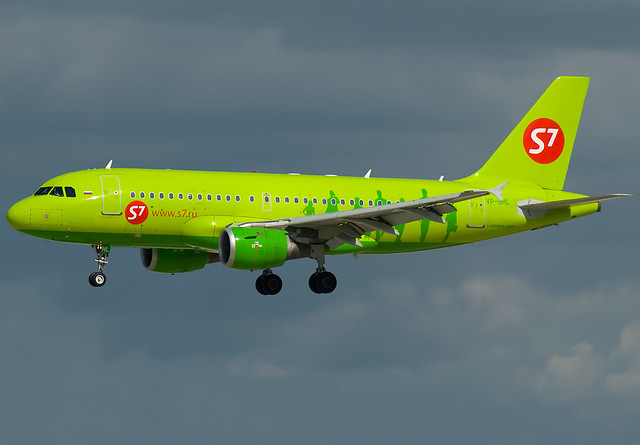VP-BHL S7 - Siberia Airlines  Airbus A319-114