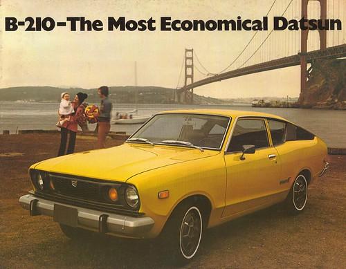 Datsun Sunny B-210 brochure cover