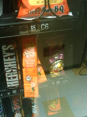 Next office vending machine user: if you like cheese and peanut butter crackers, this is your lucky morning.