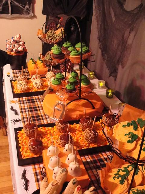 Halloween Dessert Buffet