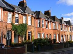 N22 terrace in red brick
