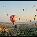 Balloons over Cappadocia by Dan Wiklund