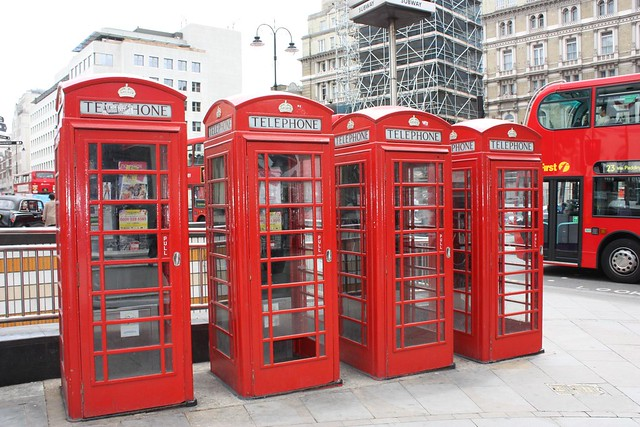 London Telephone boots