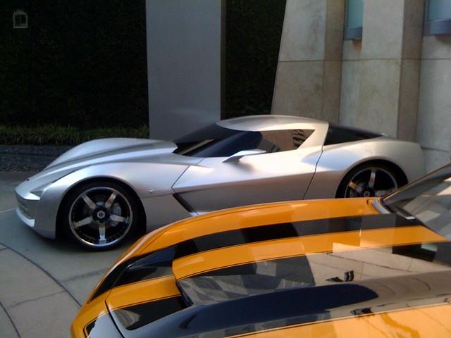 Transformers Corvette Flickr Photo Sharing