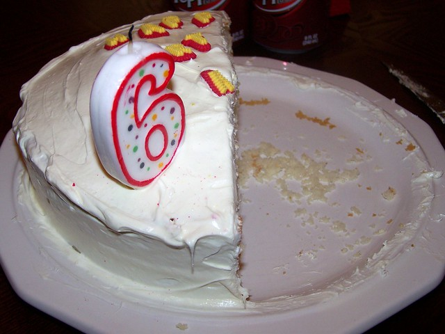 Images Of Eaten Birthday Cake : photo