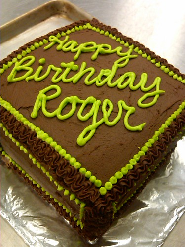 Roger Birthday Cake