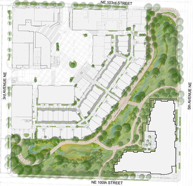 Landscape plan rendering for thornton creek water quality for Site plan rendering software