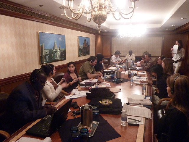 Facilitation group meeting