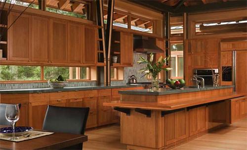 Kitchen Wooden House Interior Wooden House Interior Kitch Flickr