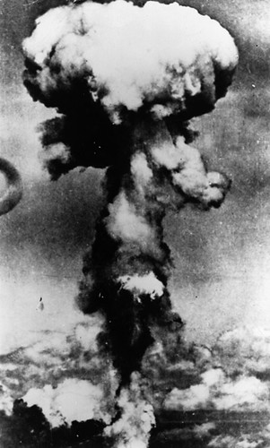 an analysis of the atomic bomb use in 1945 on the japanese city of hiroshima Why the us dropped nuclear bombs on hiroshima and  the allies began to bomb dozens of japanese  bomb destroyed the city of hiroshima august 6, 1945.