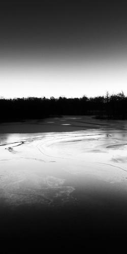 winter snow ice monochrome river dawn frozen sweden sverige hdr stångån östergötland sigma1020mmf456exdchsm bjärkasäby johanklovsjö