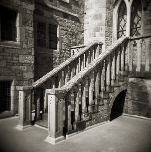 Castle Steps on St Michael's Mount, Cornwall, England