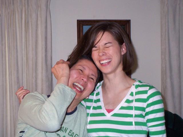 kris tries to borrow anna's hair