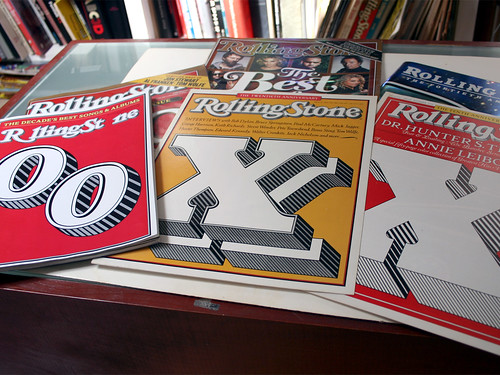 Rolling Stone Covers by Jim Parkinson