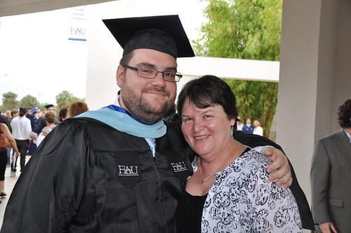 Andrew's Masters Graduation 2011