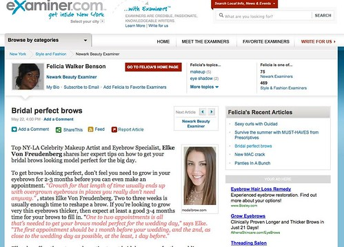Newark Beauty Examiner