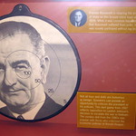 Washington DC - National Museum of American History: LBJ Dartboard and Reagan Voodoo doll